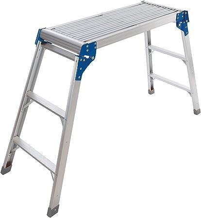 Silverline 537366 Plataforma de Aluminio, Plata: Amazon.es: Bricolaje y herramientas
