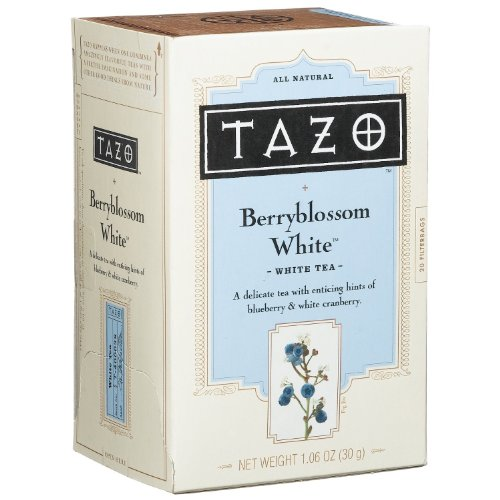 Tazo White Tea (Tazo Berry Blossom White Tea, 20)
