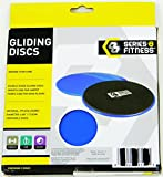 2-Core-Sliders-Gliding-Discs-for-Exercise-Fitness-Dual-Sided-for-Use-on-Carpet-or-Hardwood-Floors-Very-Effective-Core-Trainer-and-Abdominal-Exercise-Equipment