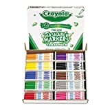 Washable Classpack Markers, Fine Point, Eight Assorted, 200/Box, Sold as 200 Each