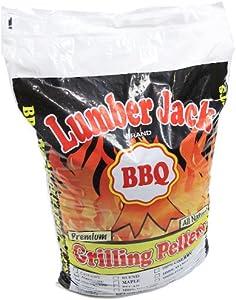 Lumber Jack 100-Percent Maple Wood BBQ Grilling Pellets, 40-Pound Bag