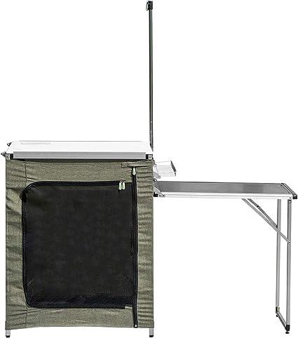 Mesa Plegable Exterior Al aire libre móvil Anafe Cocina Mesa ...