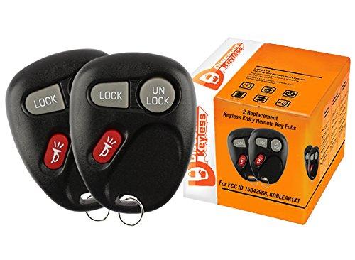 15042968 Discount Keyless Replacement Key Fob Car Entry Remote For Sierra Yukon Tahoe Silverado Suburban KOBLEAR1XT