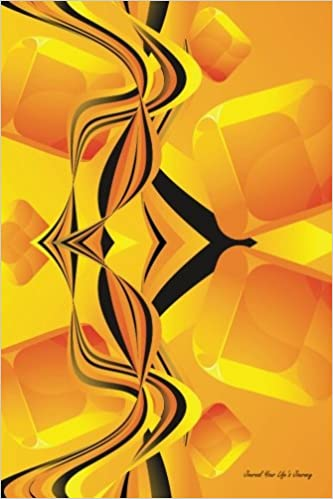 Read Journal Your Life's Journey: Orange Wave Flow, Lined Journal, 6 x 9, 100 Pages PDF