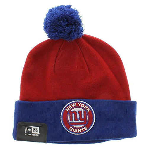 New York Giants Nfl Circle Knit Hat Red 0