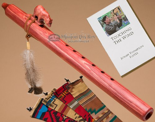 Native American Flute Pack -Cherry Bear & Bag