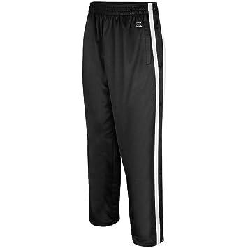 Amazon.com: Mens Tearaway Athletic Pants (Black/White): Sports ...