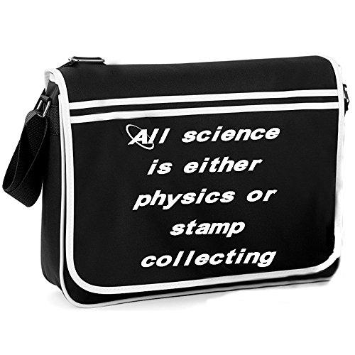 Physics Collecting or Bag Stamp Shoulder Retro FxqFYwrnTR