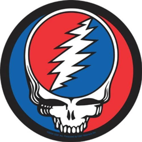 Licenses Products Grateful Dead Steal Your Face Sticker by Licenses Products