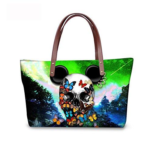 Top FancyPrint Wallets Women C8wca5391al Bags Handbags Fashion Handle Satchel Foldable Purse xYPqwTrFY