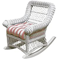 Spice Islands Childs Rocker, White