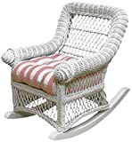 Spice Islands Child's Rocker, White