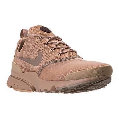 31ceb387b7 Nike Presto Fly B Mens Athletic Shoes Mushroom/Mushroom-Khaki 8.5 US / 8