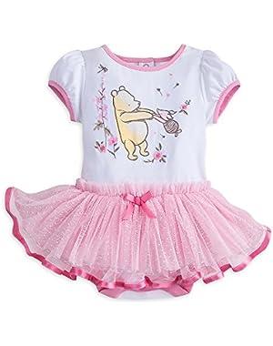 Winnie the Pooh Disney Cuddy Bodysuit Tutu for Baby