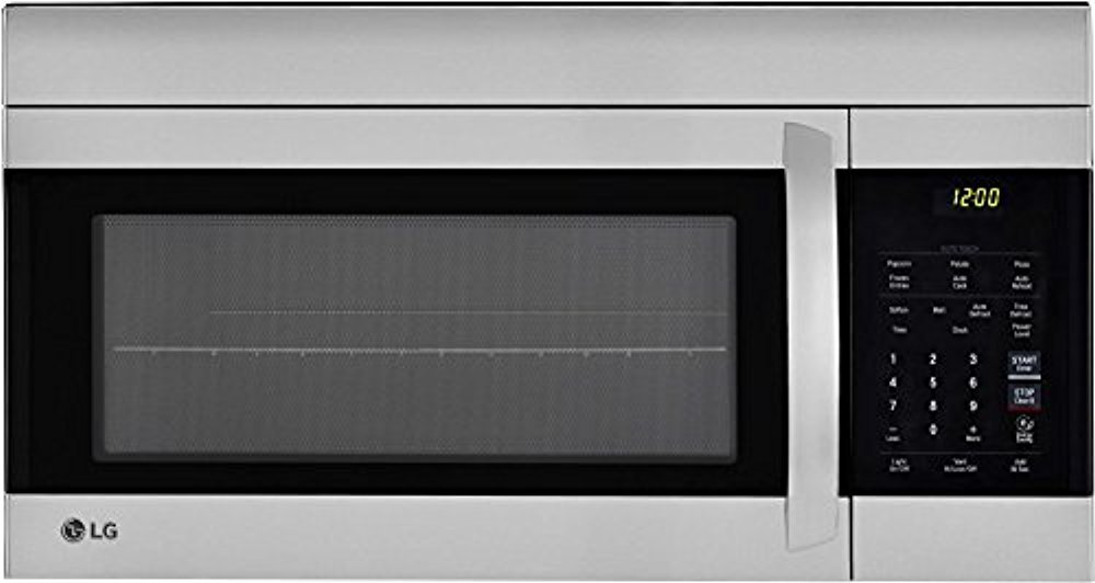 LG LMV1762ST 30 Inch Over the Range Microwave Oven with 1.7 cu. ft. Capacity, in Stainless Steel by LG
