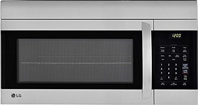 Amazon.com: LG lmv1762st 30 inch sobre la gama horno de ...