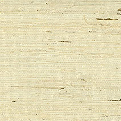 Sancar Wallpaper M057 Mi-Way Fine Grasscloths Wallpaper /Beige/Light Gray/Tan/Yellow - - Amazon.com