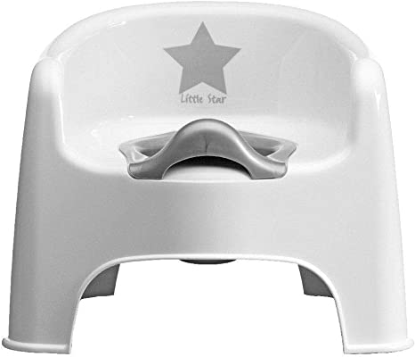 STRATA BABY DELUXE POTTY TODDLER TOILET TRAINING SILVER LINING LITTLE STAR