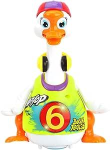 Hola Toys, Hip Hop Dancing Gander - Green, for Infant, Toddler, Preschool, Musical Toy, Learning Toy,