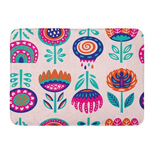 Emvency Doormats Bath Rugs Outdoor/Indoor Door Mat Pattern