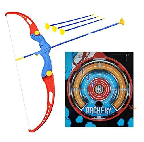 Amitasha Kid's Archery Bow and Arrow Toy Shooting Target Game Indoor/Outdoor