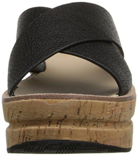 Belle Par Sigerson Morrison Femmes Almas Plateforme Sandale Arraia Fosaca Noir