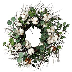 Primitives by Kathy Cotton and Eucalyptus Wreath 1