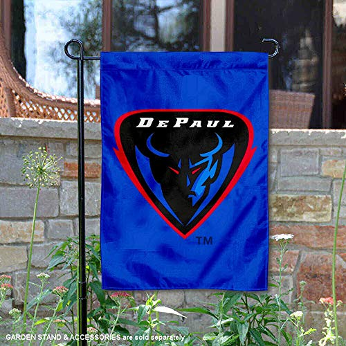 College Flags and Banners Co. DePaul Blue Demons Blue Garden Flag