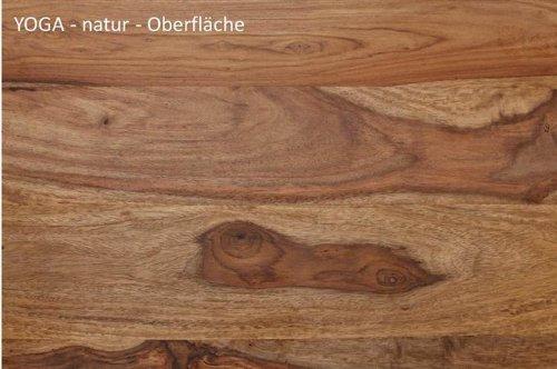 Möbel Holzstuhl Wolf Yoga Stuhl NaturKüche Sheesham 9DEH2I