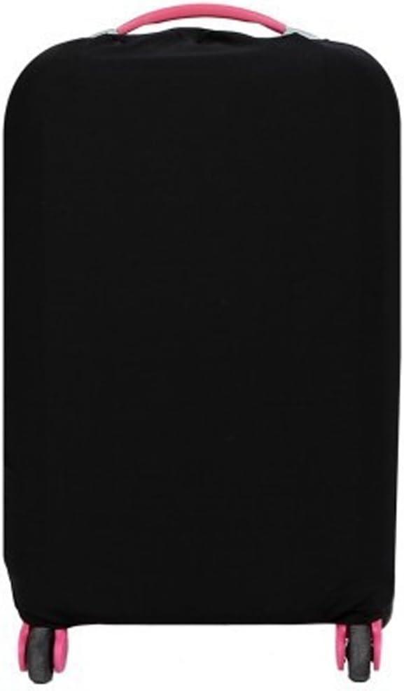 Noir FangShuai Housse de transport Protecteur de Valise Housses de Protection Pour Bagages Poussi/ère Pluie Couverture /Élastique Pour 28-30 inch valise