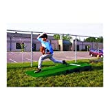 Portolite 2 Piece Practice Mound w/Turf Portable Baseball Pitching TPM-1150