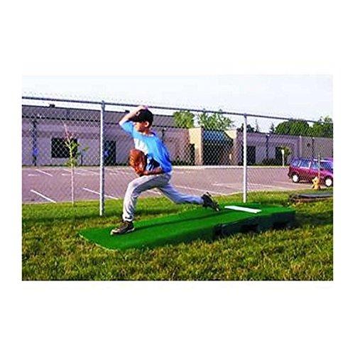 Portolite 2 Piece Practice Mound w/Turf Portable Baseball Pitching TPM-1150 by Portolite