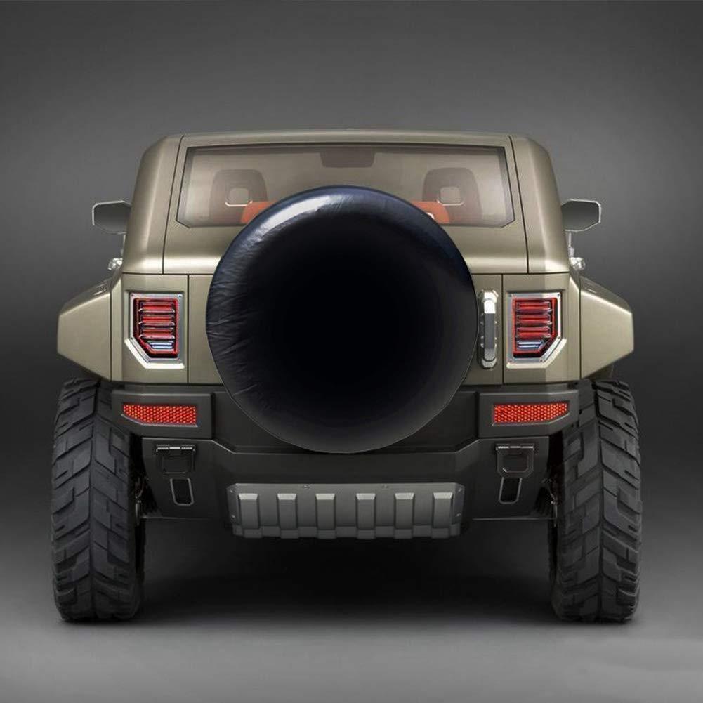 Blanc EBTOOLS Couverture de pneu de roue de secours universelle de 28 pouces /écran solaire r/ésistant aux intemp/éries des pi/èces de couverture de pneu accessoires remorque de VUS /étanche