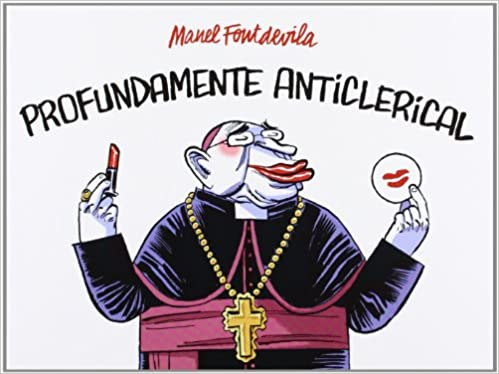 Image result for anti-clerical cartoon
