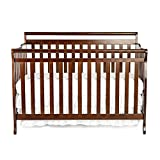 Dream On Me Liberty 5-in-1 Convertible Crib, Espresso