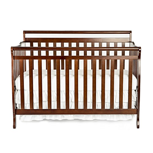 Dream On Me Liberty 5-in-1 Convertible Crib, - 1 Pecan Crib