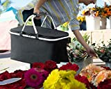 LANOUOGGK Picnic Basket -Grocery Basket- Laundry