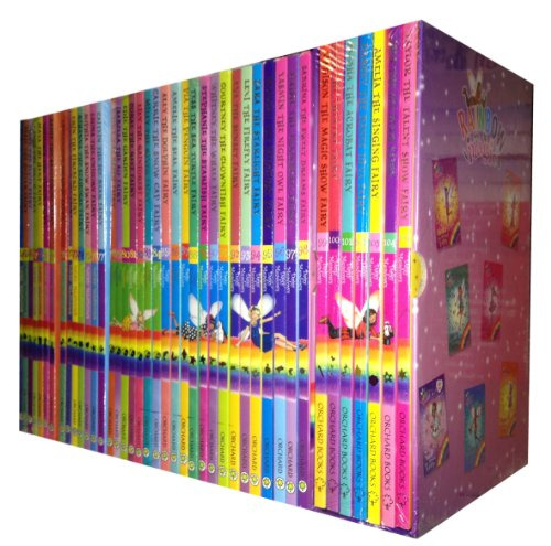 (Rainbow Magic Collection 42 Books Gift Set Pack (Pop Star Fairies, Twilight Fairies, Ocean Fairies, Music Fairies, Magical Animal)