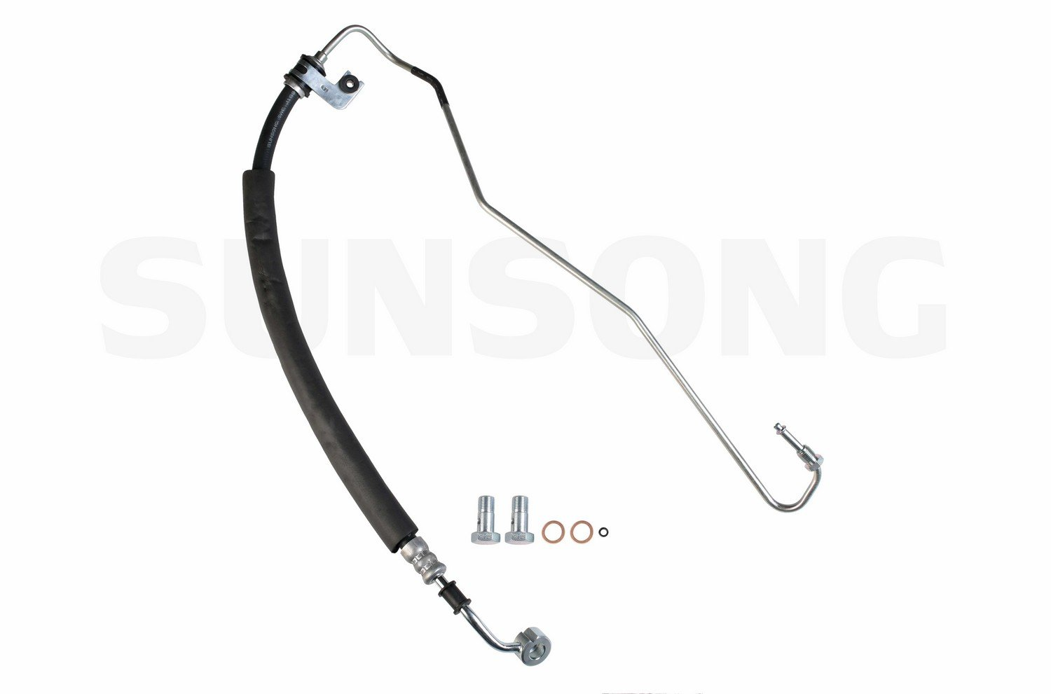 Sunsong 3401118 Power Steering Pressure Line Hose Assembly