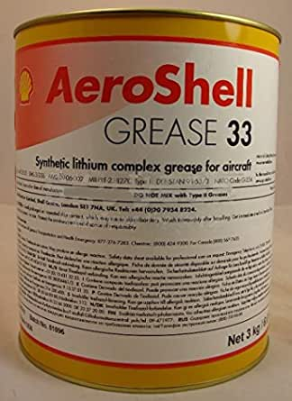 AeroShell Grease 7 Multi-Purpose Synthetic Aircraft Grease 6.6 lb 3 Kg Can