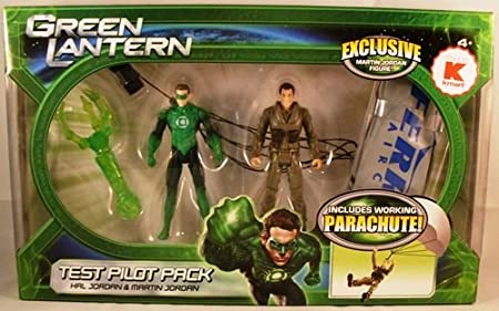 Green Lantern Movie Exclusive Action Figure 2Pack Test Pilot Pack ...