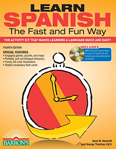 Usa Activity Kit (Learn Spanish the Fast and Fun Way with MP3 CD: The Activity Kit That Makes Learning a Language Quick and Easy! (Fast and Fun Way Series))