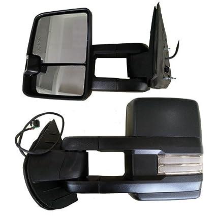 Amazon Com Fd Towing Mirrors Dynamic Led Turn Signal Backup Lamp