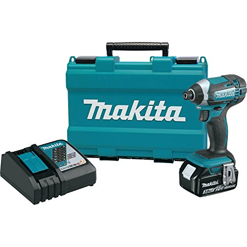 Best Impact Drill (Makita XDT111 3.0 Ah 18V LXT Lithium-Ion Cordless Impact Driver Kit)