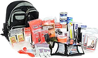 product image for Deluxe 2 Person Bug Out Bag - Emergency Supplies Bugout Kit - Food, Shelter, Survival Tools & Gear Pack
