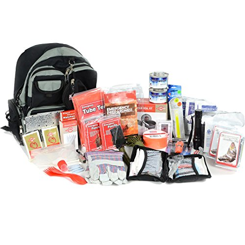 Deluxe 2 Person Bug Out Bag - Emergency Supplies Bugout Kit