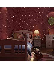 Realistic Tiny 3D Domed Glow in The Dark Stars, 826pcs Glow Dots and Stars, Adhesive Glow Stars for Kids Bedroom,Luminous Stars Stickers Create a Realistic Starry Sky,Room Decor,Wall Stickers