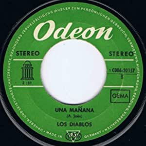 Los Diablos - Un Rayo De Sol - Odeon - 1 C 006-20 157, EMI - 1 C 006-20 157