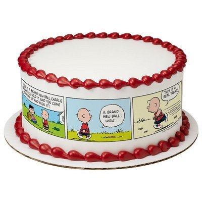 Peanuts Cake Strips Licensed Edible Cake Topper