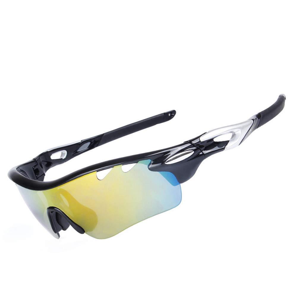 YFFS Portable Glasses Polarized Sunglasses Cycling Sports Glasses Outdoor Sports Sunglasses (Color : D)